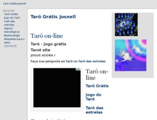br.tarot-josnell.com screenshot