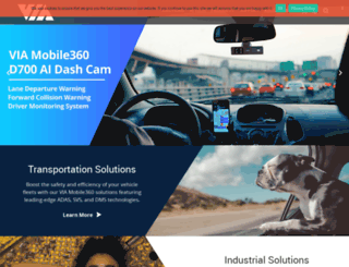 br.viatech.com screenshot