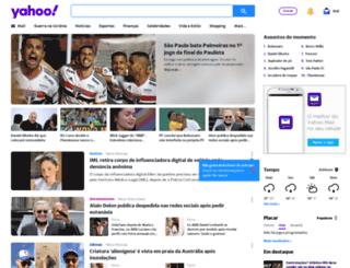 br.yahoo.com screenshot