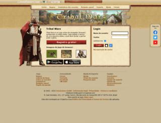 br65x.tribalwars.com.br screenshot