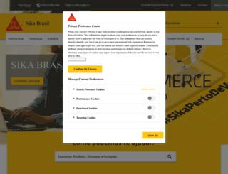 bra.sika.com screenshot