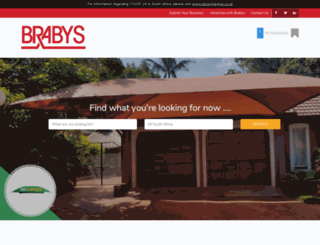 brabys.co.za screenshot