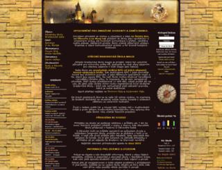 bradavice.eu screenshot