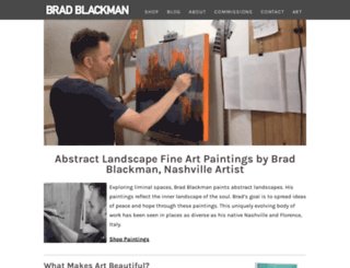 bradblackman.com screenshot