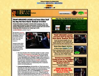 bradblog.com screenshot