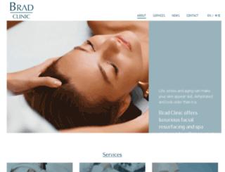 bradclinic.com screenshot
