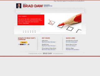 braddaw.com screenshot