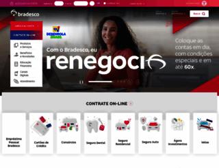 bradesco.com.br screenshot