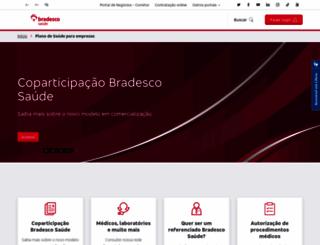 bradescosaude.com.br screenshot