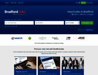 bradford-jobs.co.uk screenshot