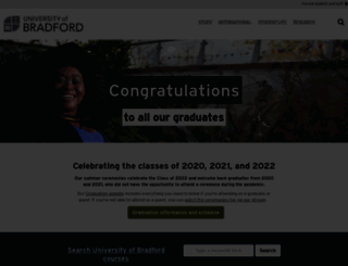 bradford.ac.uk screenshot