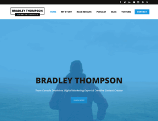 bradleythompson.ca screenshot