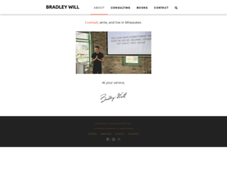 bradleywill.com screenshot