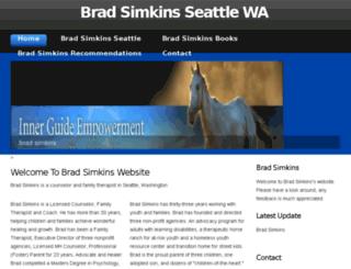 bradsimkins.net screenshot