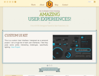 bradysammons.com screenshot