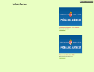 brahambence.itch.io screenshot
