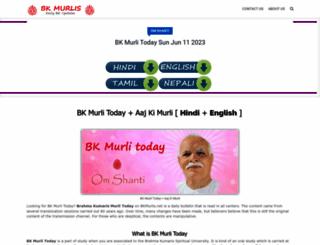brahma-kumaris-murli.blogspot.com screenshot