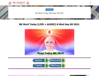 brahma-kumaris-murli.blogspot.in screenshot