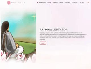 brahmakumaris.co.in screenshot