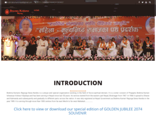 brahmakumarisnepal.org.np screenshot