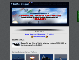 brahmos.com screenshot