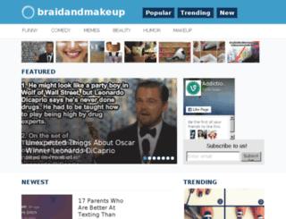 braidandmakeup.me screenshot