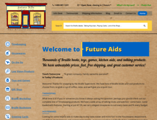 braillebookstore.com screenshot