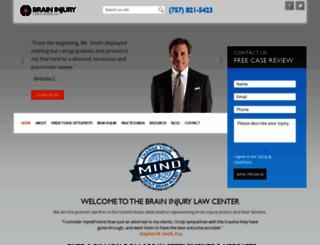 brain-injury-law-center.com screenshot