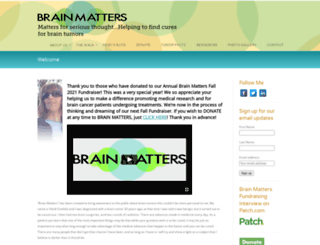 brain-matters.org screenshot