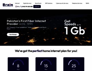 brain.net.pk screenshot