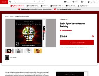 brainage.com screenshot