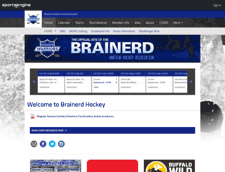 brainerd.pucksystems2.com screenshot