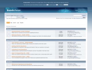 brainevforum.com screenshot