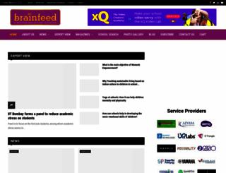 brainfeedmagazine.com screenshot