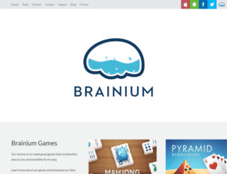 brainiumstudios.com screenshot