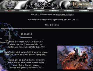 brainless-soldiers.de screenshot