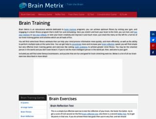 brainmetrix.com screenshot