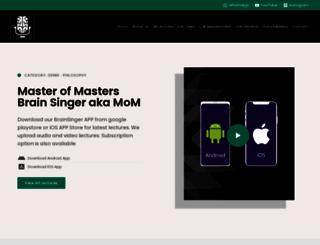 brainsinger.com screenshot
