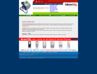braintel.net.pk screenshot