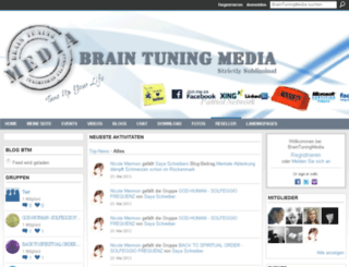 braintuningmedia.ning.com screenshot