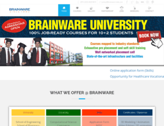 brainware-india.com screenshot