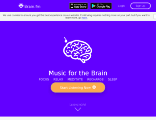 brainwave.fm screenshot