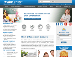 brainy.center screenshot