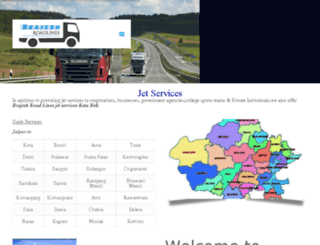 brajeshroadlines.com screenshot