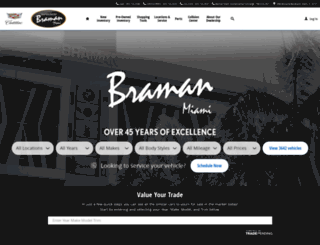 bramanmiami.com screenshot
