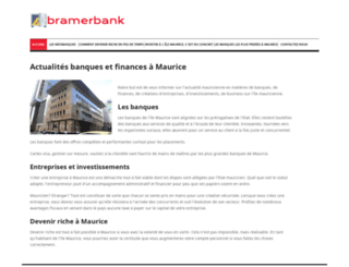 bramerbank.mu screenshot