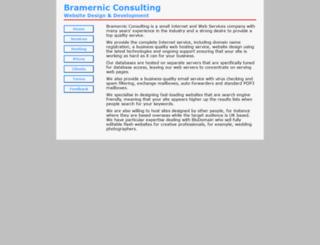bramernic.com screenshot