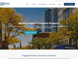 bramptonbot.com screenshot