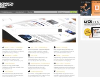 branchenbuch.bodymedia.de screenshot