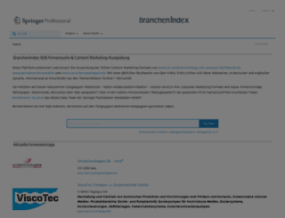branchenindex.de screenshot